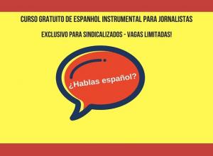 Espanhol instrumental para jornalistas
