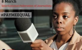 FIJ: É hora de conseguir salários iguais na mídia
