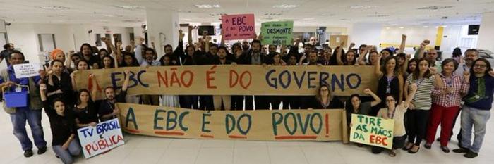 Foto: Frente em Defesa da EBC e da Comunicação Pública
