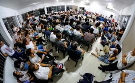 Greve dos jornalistas de Alagoas continua