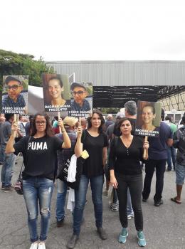 Homenagem aos colegas Dagmar e Fábio. Imagem: Patrícia Zaidan