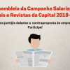 Jornais e Revistas da Capital: Assembleia da Campanha Salarial é dia 25