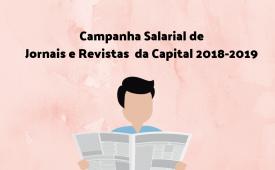 Jornais e revistas: Jornalistas da capital aprovam proposta da Campanha Salarial