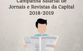Jornais e Revistas: nesta segunda (20) ocorre a 9ª rodada da Capital