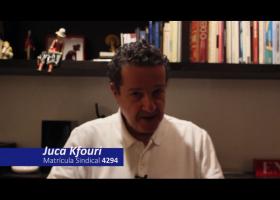 """Juca Kfouri: """"Se sindicalize. Sejamos fortes. Enfrentemos os nossos adversários e os nossos inimigos"""""""