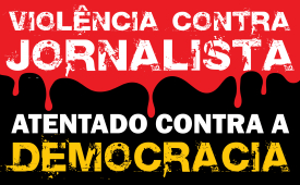 Manifestantes hostilizam repórter Leonardo Martins em ato na Av. Paulista