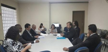 Mesa-redonda na Superintendência Regional do Trabalho e Emprego da capital paulista. Foto: Flaviana Serafim/SJSP