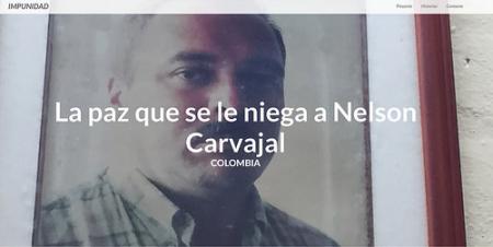 O caso de Nelson Carvajal Carvajal no projeto Impunidad da IPYS e da Unesco