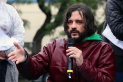O jornalista Bruno Favoretto criticou o golpe dado pela editora. Foto: Cadu Bazilevski/SJSP