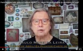 Paulo Moreira Leite opõe-se à atitude da Abril em cassar liberação sindical remunerada do presidente do SJSP