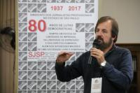 Paulo Zocchi, presidente do Sindicato. Foto: Cadu Bazilevski/SJSP.
