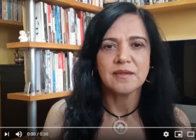 Presidenta da Fenaj, Maria José Braga, depõe na campanha #AbrilRespeiteoSindicato