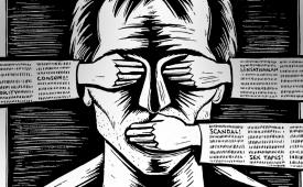 Presidente ataca a liberdade de imprensa ao caluniar jornalista