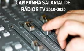 Rádio e TV: Sindicato entrega reivindicações às empresas