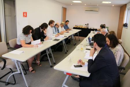 Sexta rodada de negociação aconteceu nesta terça-feira (16) / Foto: Cadu Bazilevski