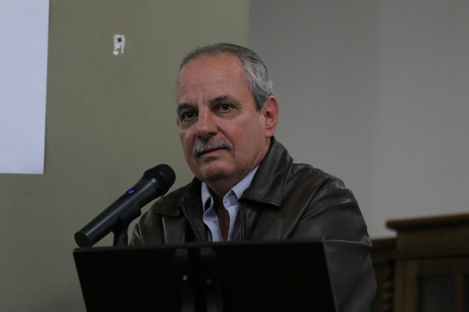 Sergio Ipoldo, presidente do Radialistas-SP