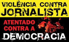 Sindicato divulga orientações em caso de violência contra jornalistas nos atos de 24 de julho