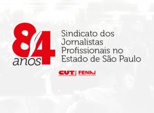 Sindicato dos Jornalista celebra 84 anos