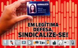 Sindicato dos Jornalistas de SP lança nova Campanha de Sindicalização