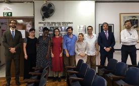Sindicato dos Jornalistas e outras organizações se reúnem com Ministério Público Federal em prol da proteção a comunicadores