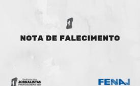 Sindicato e Fenaj lamentam morte do jornalista José Paulo de Andrade por covid-19