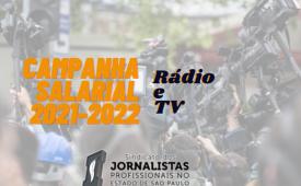 Sindicato entrega pauta da Campanha Salarial de Rádio e TV