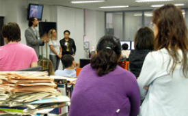 Sindicato se reúne com jornalistas do jornal Marca Brasil e Brasil Econômico