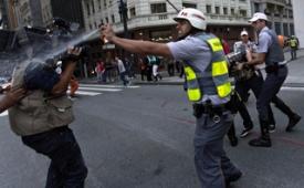 SJSP protesta e exige apuração da violência contra jornalistas