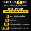 Trabalhadores da EBC param por um dia contra PCR apresentado pela empresa