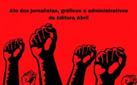Trabalhadores da Editora Abril protestam nesta sexta (10)