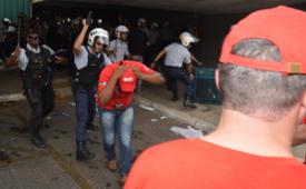 Violência não intimida e CUT volta ao Congresso nesta quarta (4) contra PL da terceirização